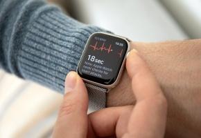 Apple avait déjà intégré un électrocardiogramme à l'Apple Watch Serie 4