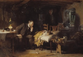 Le médecin, Luke Fildes, 1891